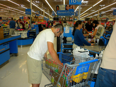 2010 Navajo Mission - WalMart Shopping For The Mission