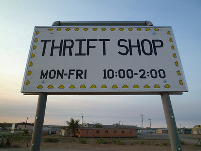 OLF - Sign - Thrift Store-1