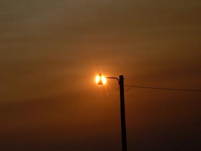 OLF - Light Pole and Sun