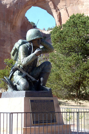 Navajo Mission - 2012 - Code Talker Memorial in Window Rock, Arizona