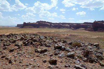 Navajo Mission - 2012 - Old Ruins near Many Farms, Arizona