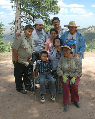Navajo Mission - 2014 - People on the Mission