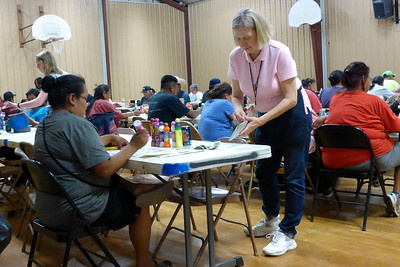 Mission to the Navajo Nation - Chinle, Arizona - June 4-17, 2016 - Sponsored by the Diocese of Joliet - Bingo Night Helpers