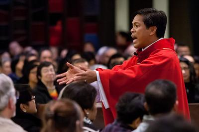 Healing Mass with Fr. Fernando Suarez 11-30-2012
