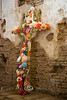 Cross of Flowers - Tumacácori Mission, Arizona