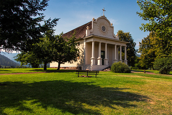Old Mission, Coeur d'Alene, Idaho
