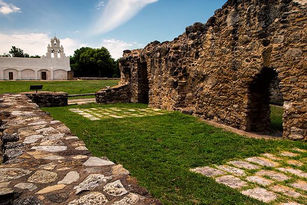 Mission San Juan Capistrano, San Antonio, Texas