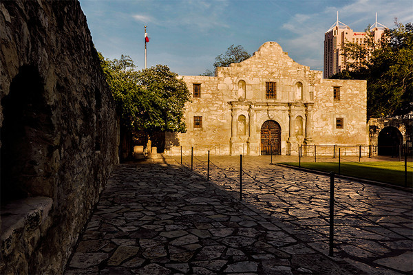 "Mission San Antonio de Valero, ""the Alamo"", San Antonio, Texas"