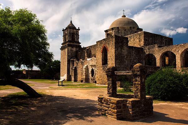 Mission San Jose & San Miguel de Aguayo, San Antonio, Texas