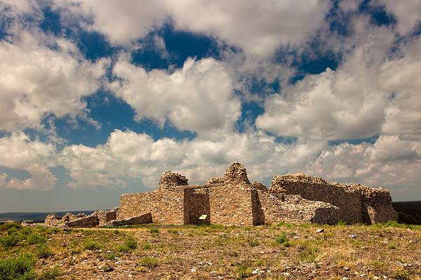 Unfinished church, Salinas Pueblo Mission Gran Quivira