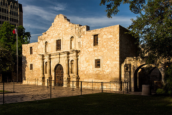 """Mission San Antonio de Valero, """"the Alamo"""", San Antonio, Texas"""