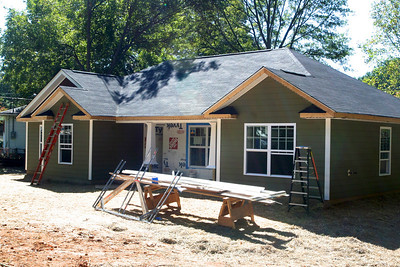 Habitat Houses - Almost Done.