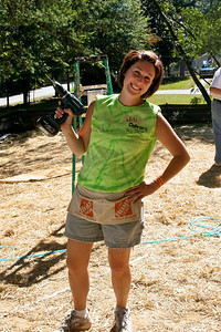 Jill - a chick with a power tool!