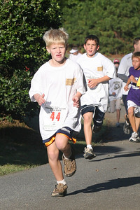 Action Shots of 1 Mile Runners