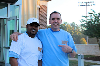 Andy with Habitat Home recipient