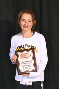 Female Masters Winner three years in a row (at least)