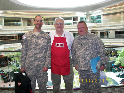 Veteran's Ministry Serving with USO