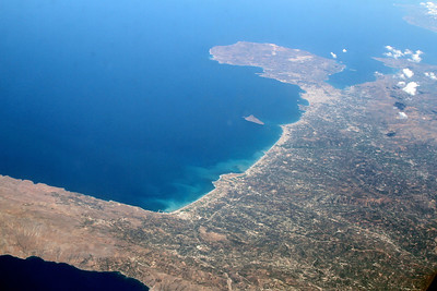 North coast of Crete, looking east.