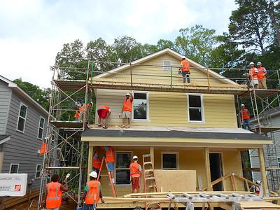 The House Progresses