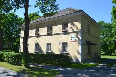 The building in Kohtla-Jarve used for Sergei