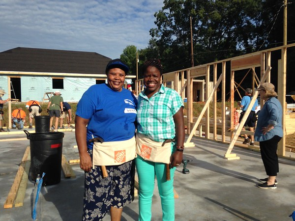Habitat Home Build 2016