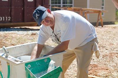 Habitat Home - Staff Build Day