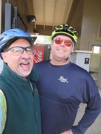 Azalea 11.14.17 Bike ride with John.