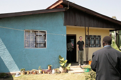 Alemnesh's house. Alemnesh has dual citizenship and lives in America. But she lets out her house in Ethiopia to the MAKBC church to use as they see fit.
