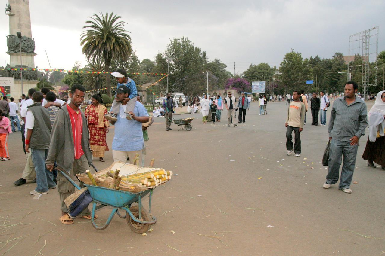 Ethiopian Orthodox Christians begin celebrating Timkat, or Epiphany, a commemoration of the baptism of Christ.