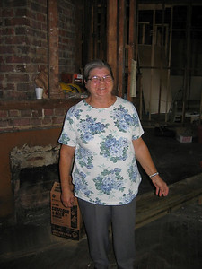 This is Mrs. Hellen Sanderson.  We are building this house for her.