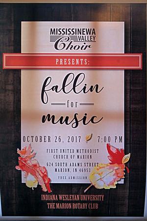 Mississinewa Valley Choir  Fallin' for Music  10-26-17