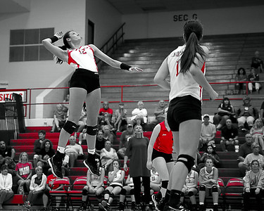 Mississinewa Volleyball vs Delta 9-17-18