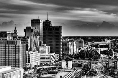 Downtown Memphis Cityscape