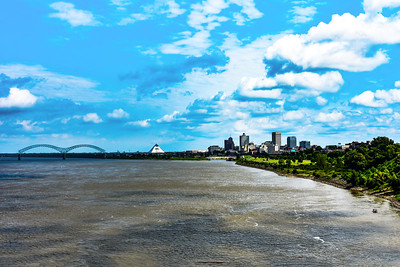 Mississippi River-Downtown Memphis