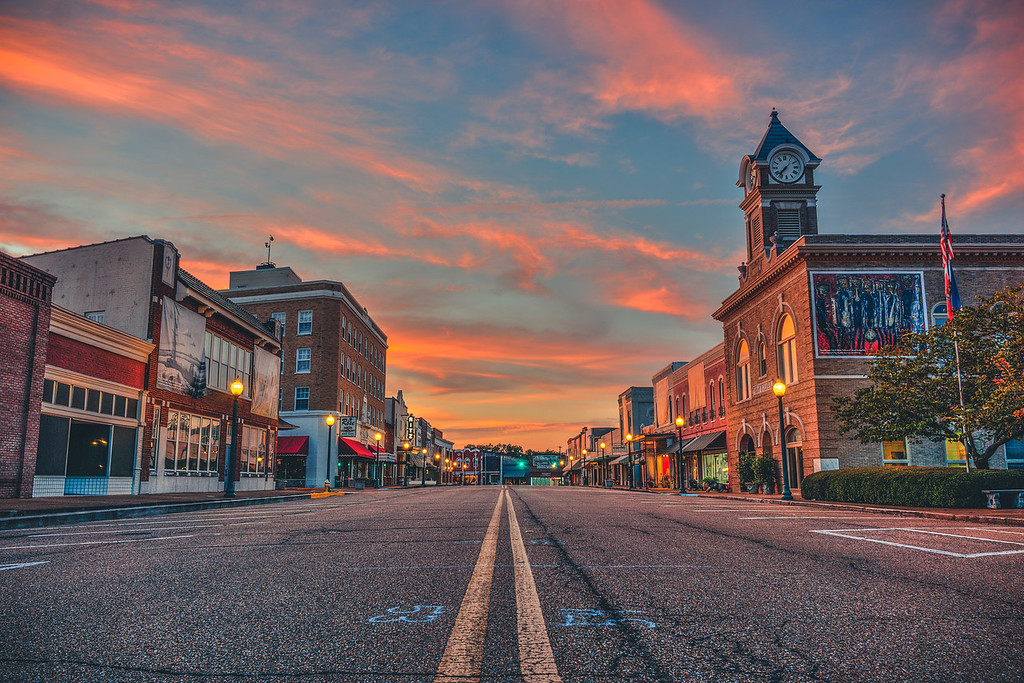 Small Town Sunset