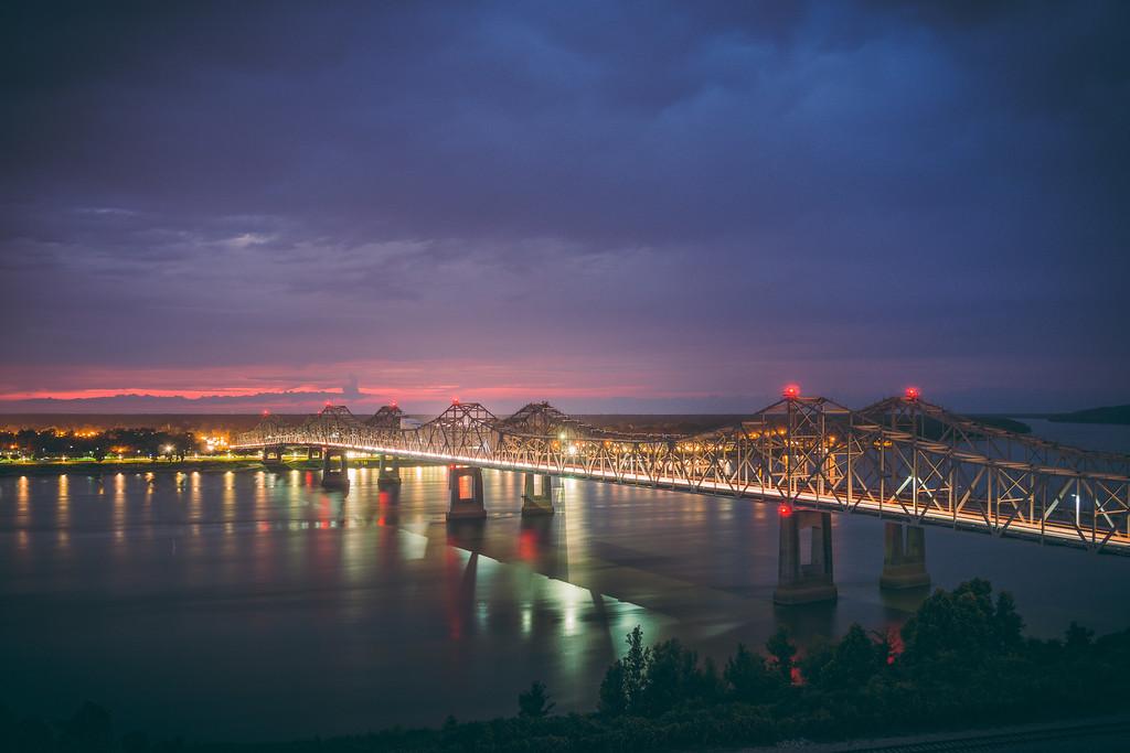 Bridge Light Trails