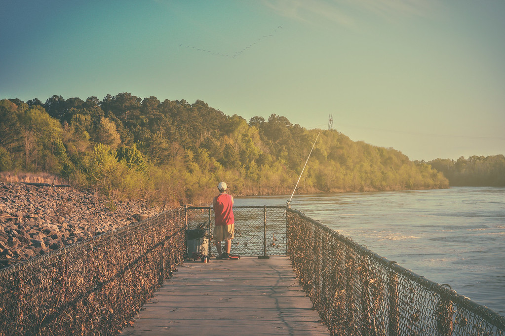 Fishin' On the Pier