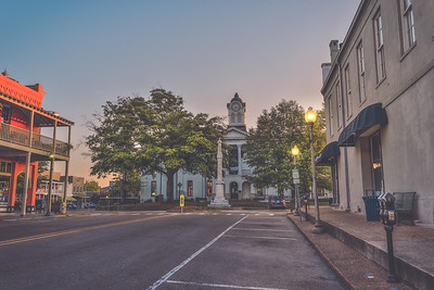 Early Morning on the Square