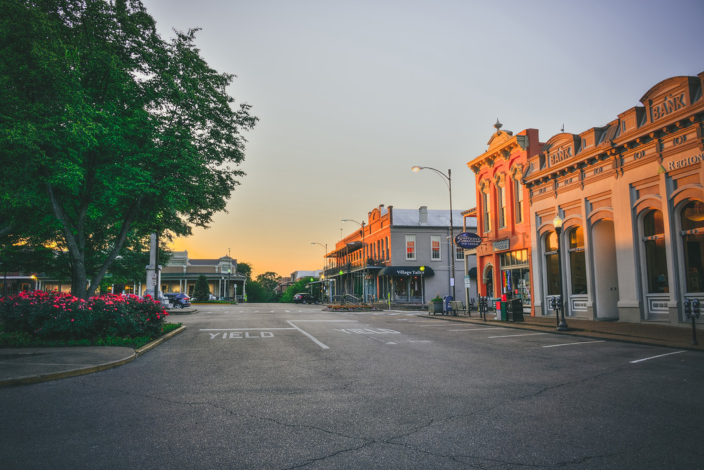 Morning on the Square