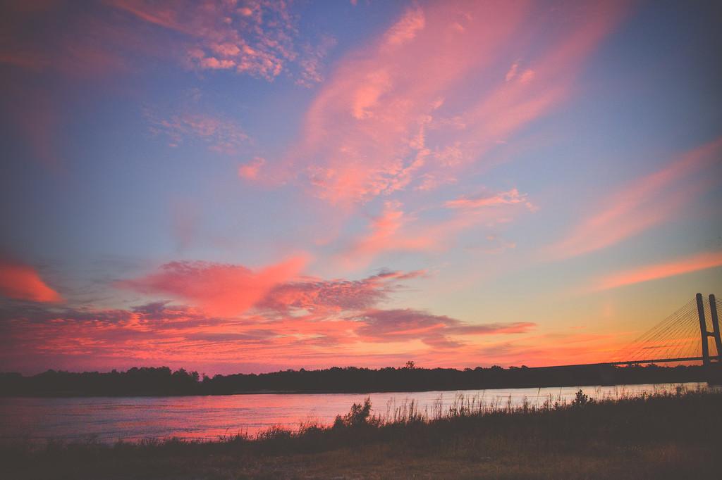 Sunrise on the Mississippi