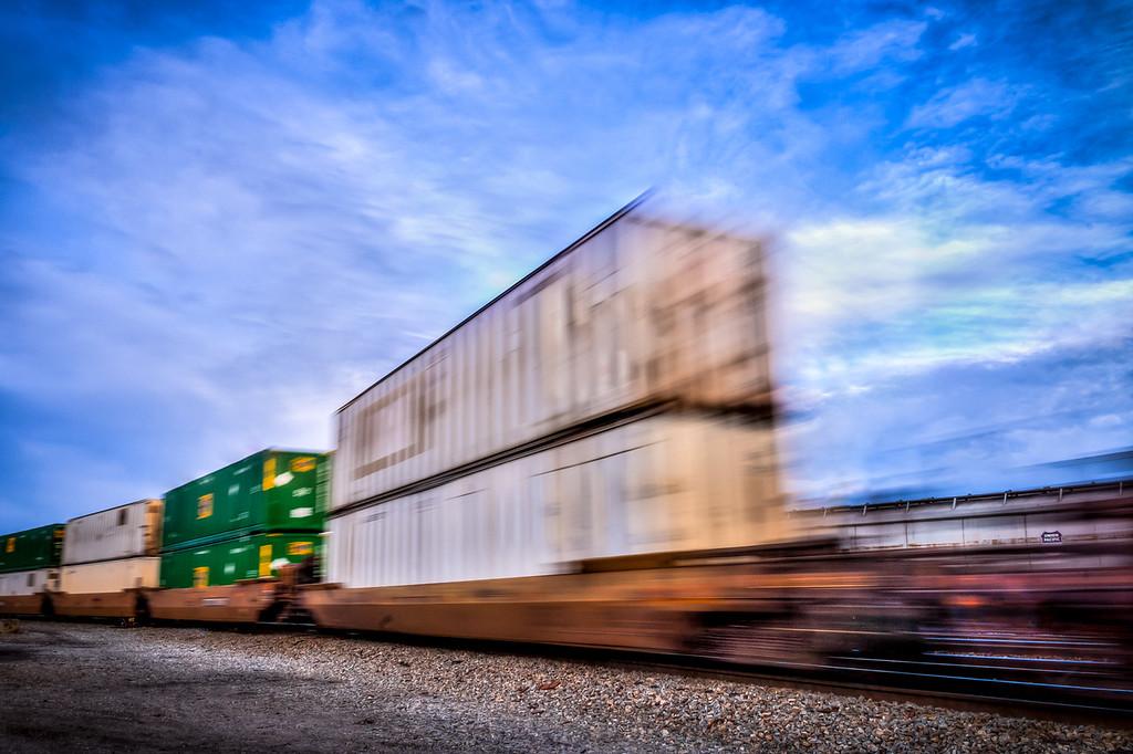 Train Blur