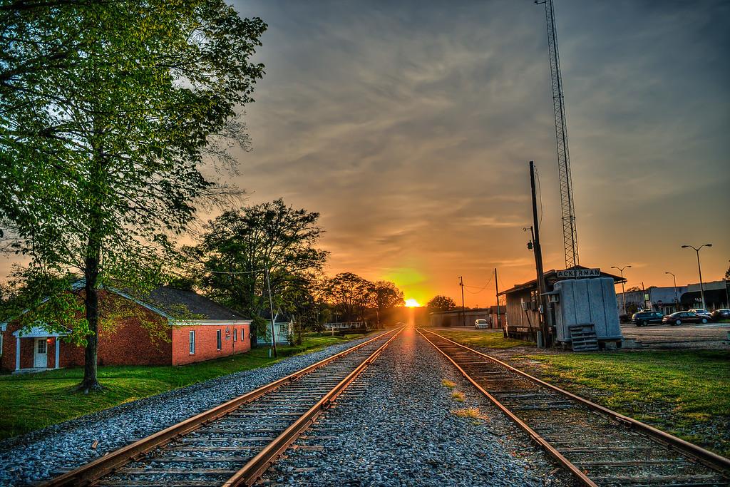 Tracks Into the Sun