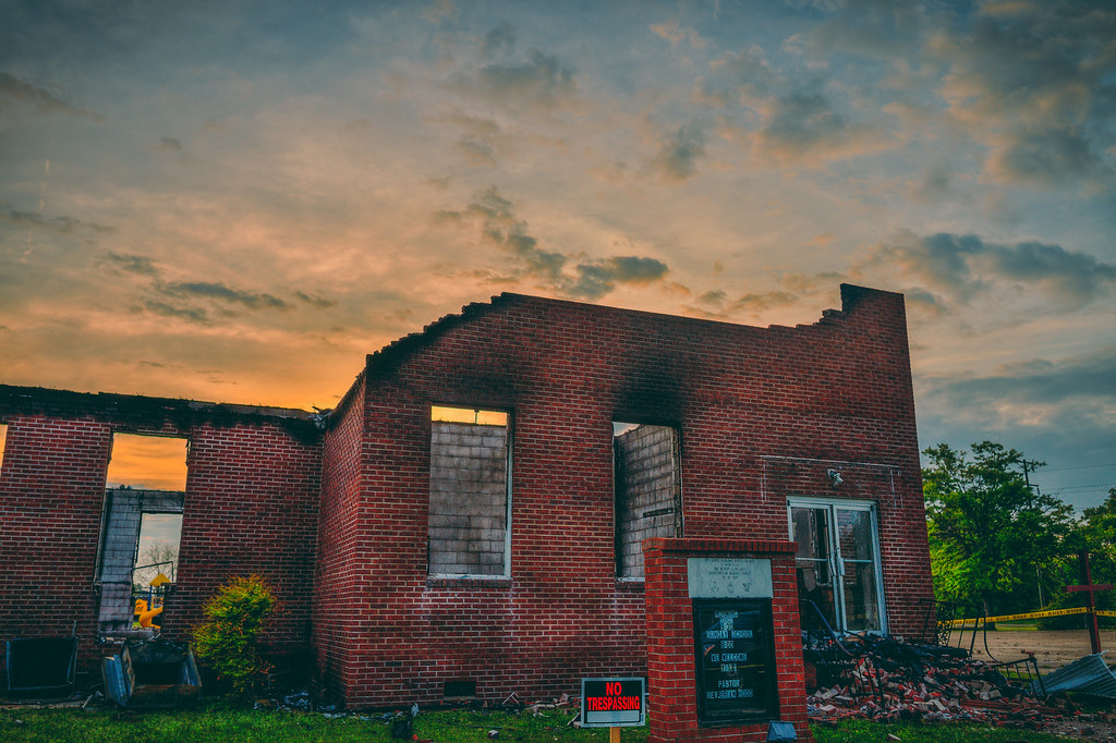Burned Building