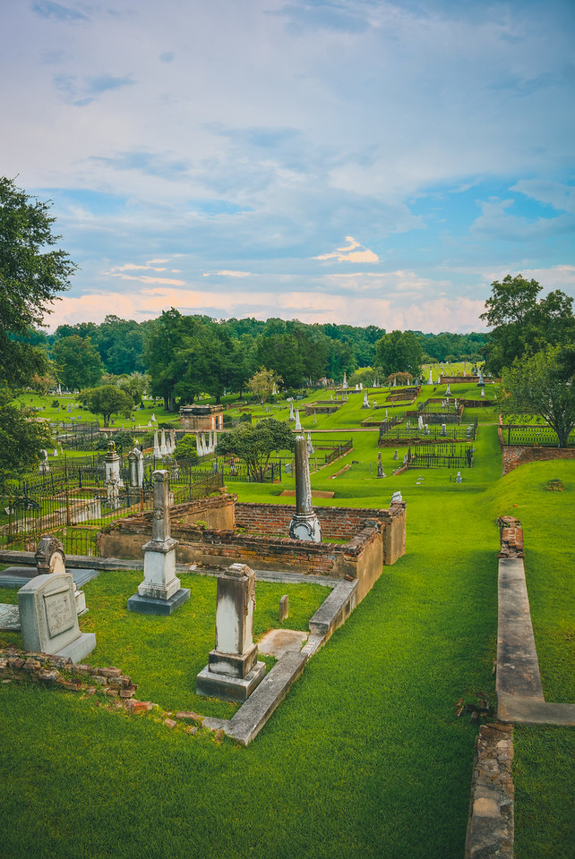 Above the Cemetery