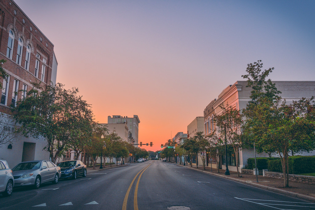 Main Street Sunrise