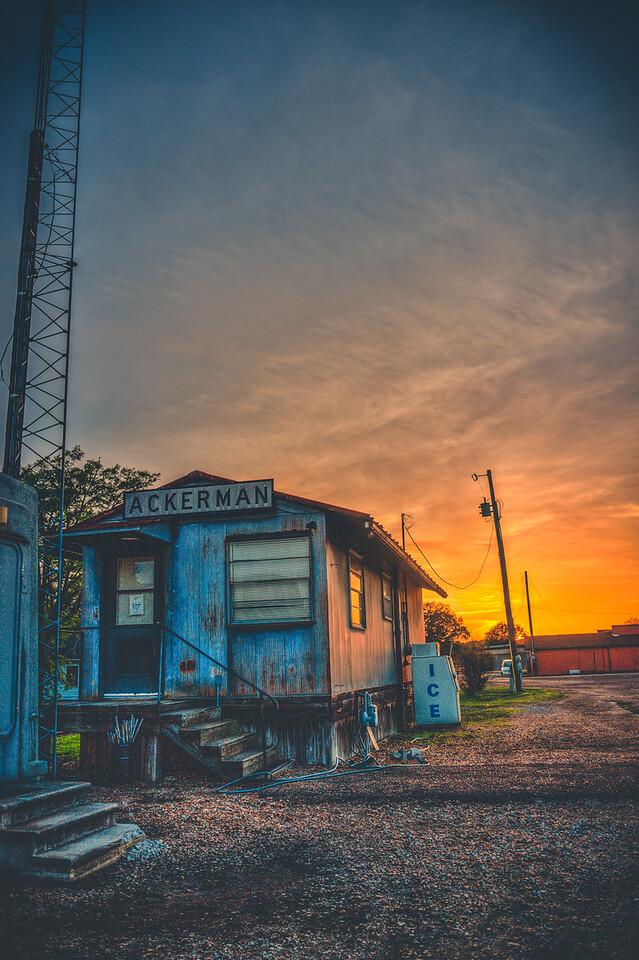 Ackerman Sunset