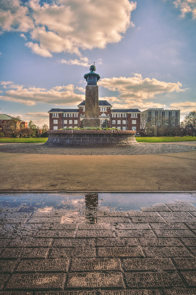 Statue Reflection