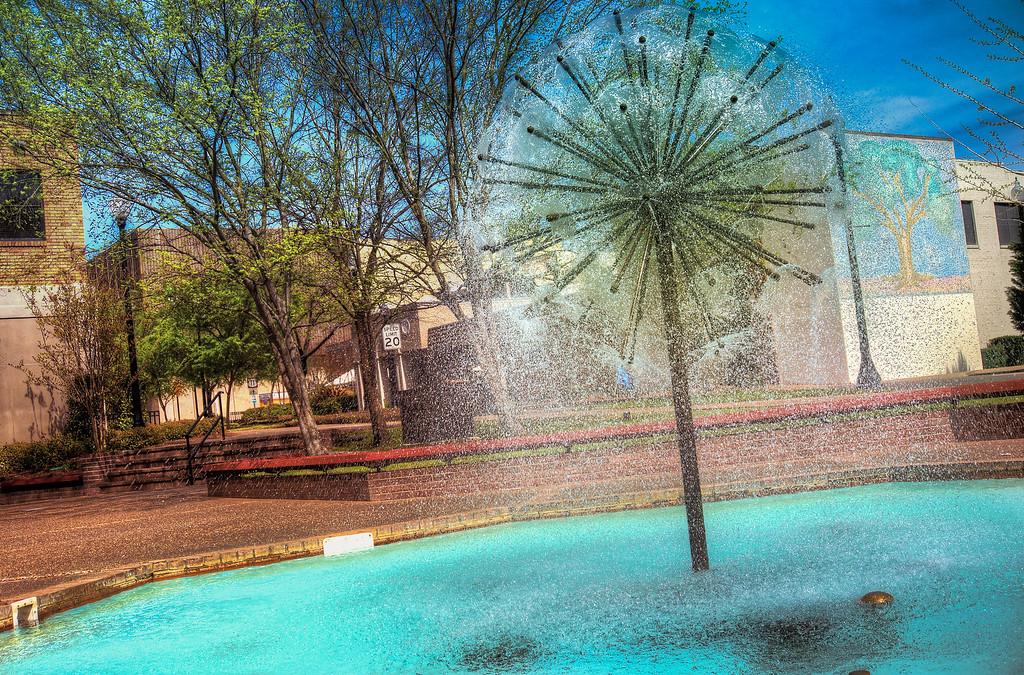 Fountain Globe
