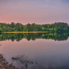 Purple Lake Reflection