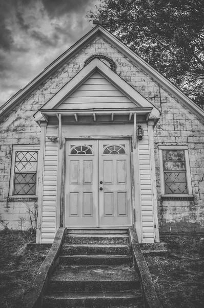 Black and White Church